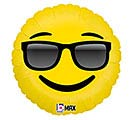 "18""PKG SUNGLASSES EMOTICONS"