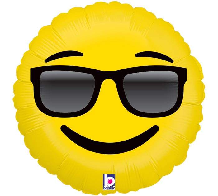 "9""INFLATED SMI EMOJI SUNGLASSES"