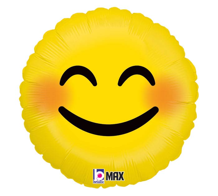 "18""PKG SMILEY EMOTICONS"