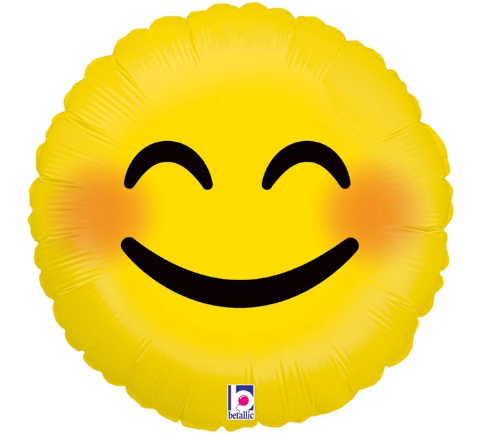 "9""INFLATED SMI EMOJI SMILEY"