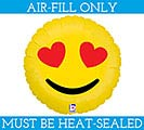 "9""EMOTICON HEAR EYES MUST FILL WITH AIR"