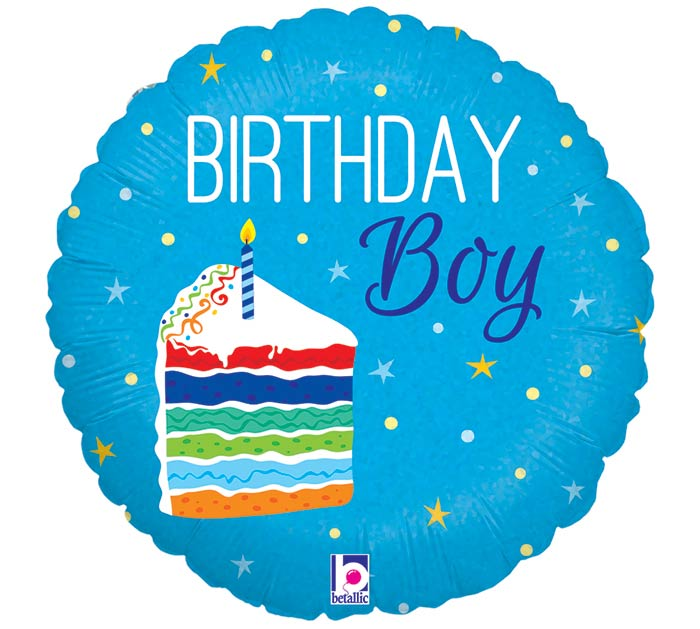 "18""PKG HBD CAKE BOY"