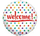 "18""PKG WELCOME DOTS"