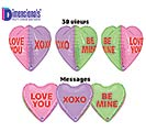 "23""LUV DIMENSIONALS CONVERSATION HEARTS"