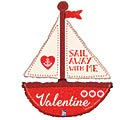 "37""VAL SAIL AWAY WITH ME VALENTINE"