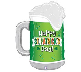 """34""""STP ST PATRICK'S DAY GREEN BEER"""