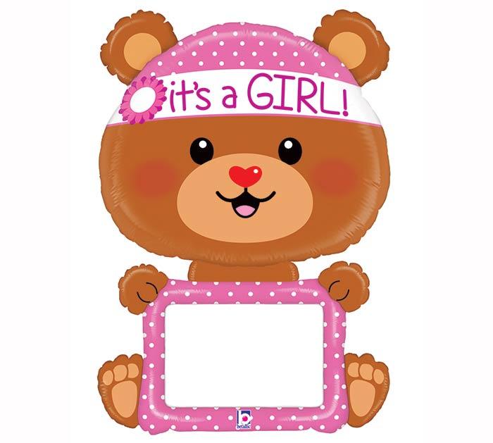 "48""PKG REMARKABLES IT'S A GIRL BEAR"