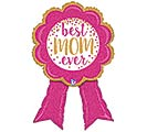 "33""PKG BEST MOM RIBBON SHAPE"