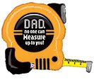 "30""PKG TAPE MEASURE DAD SHAPE"