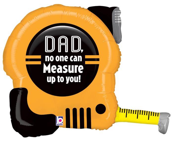 "30""PKG TAPE MEASURE DAD SHAPE"