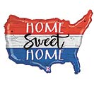 "33""PKG PATRIOTIC HOME SWEET HOME"