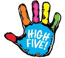 "40""PKG MIGHTY HIGH FIVE MIGHTY BRIGHT"