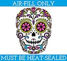 "14""FLAT HAL SUGAR SKULL MINI SHAPE"