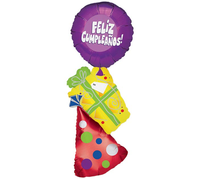 "46"" SPANISH HAPPY BIRTHDAY BALLOON"
