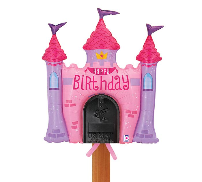 "34"" PKG MAILBOX BALLOON CASTLE"