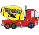 "30"" PKGD BIRTHDAY ZONE TRUCK SHAPE"
