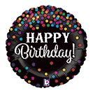 "18""PKG HBD GLITTERING BIRTHDAY CONFETTI"
