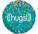 """18""""PKG HNK GLITTERING HUGS"""