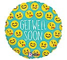"9""INFLATED GWS EMOJI GET WELL"