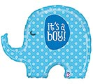 "32""PKG BBY IT'S A BOY ELEPHANT"
