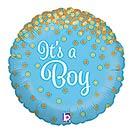 """18""""PKG BBY GLITTERING IT'S A BOY"""