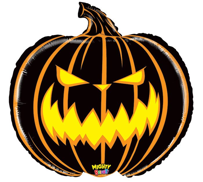 """28""""HAL MIGHTY SCARY PUMPKIN"""