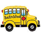 "32""SCH BACK TO SCHOOL BUS SHAPE"