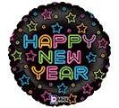 """18""""HNY NEON NEW YEAR"""