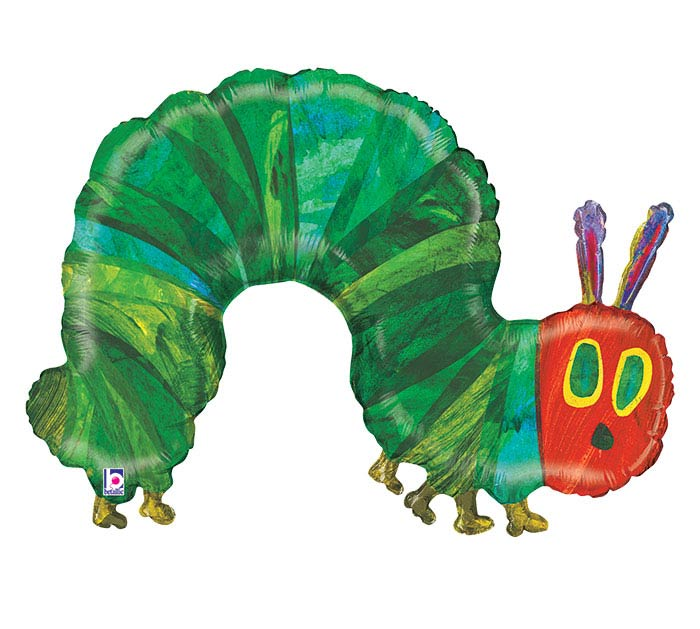 """43""""PKG CHA THE VERY HUNGRY CATERPILLAR"""