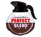"26""PKG PERFECT BLEND COFFEE POT BALLOON"