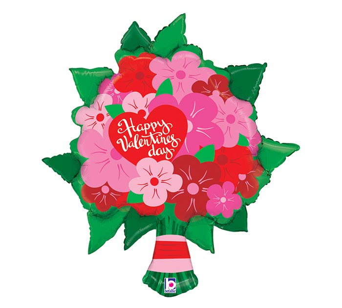 "38""HVD VALENTINE FLOWER BOUQUET"