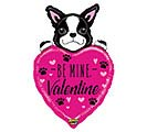 "37""VAL MIGHTY BE MINE VALENTINE DOG"