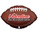 "29""VAL GREAT CATCH VALENTINE FOOTBALL"