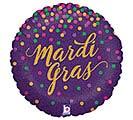 """18""""MAR GLITTERING MARDI GRAS"""