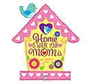 "33""PKG MOM BIRDHOUSE MOM SHAPE"