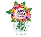 "37""HMD MOTHER'S DAY VASE CLEAR FILM"