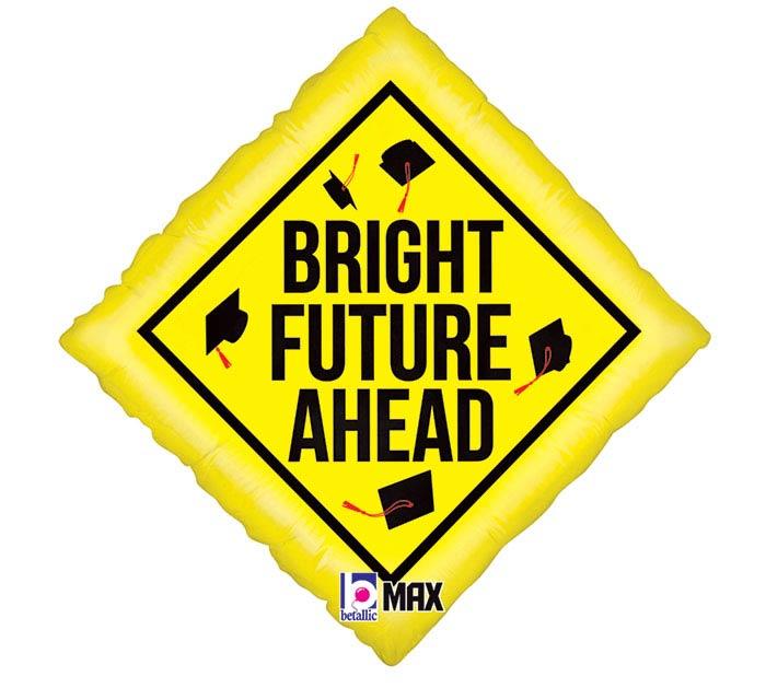 """18""""GRA BRIGHT FUTURE AHEAD"""