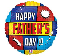 """18""""HFD SUPER FATHER'S DAY"""