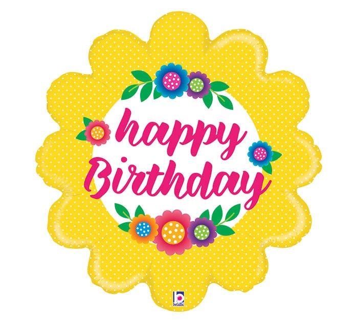 "29""PKG FLOWER BIRTHDAY"