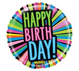 """21""""PKG MIGHTY BIRTHDAY BLAST"""