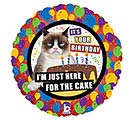 "18""PKG GRUMPY CAT CAKE BIRTHDAY"