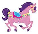 """48""""PKG CAROUSEL HORSE"""