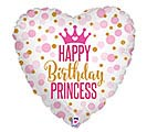 "18""PKG GLITTER BIRTHDAY PRINCESS"