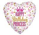 "18""PKG GLITTER BIRTHDAY PRINCESS"