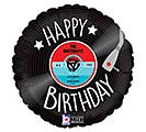 "18""PKG HBD RECORD BIRTHDAY"
