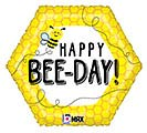 "18""PKG HBD HAPPY BEE-DAY"