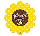 "29""PKG GET WELL SUNFLOWER"