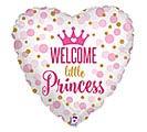 "18""PKG BBY GLITTER BABY PRINCESS"