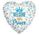 "18""PKG BBY GLITTER BABY PRINCE"
