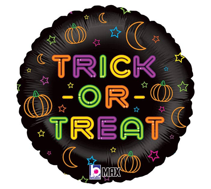 """18"""" NEON TRICK OR TREAT"""